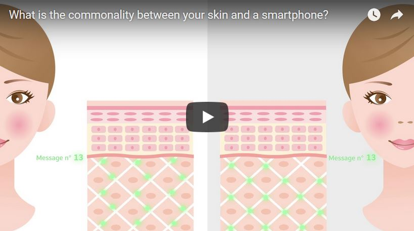 What do your skin and smartphone have in common?